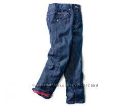 Теплые джинсы на микрофлисовой подкладке 98104 см