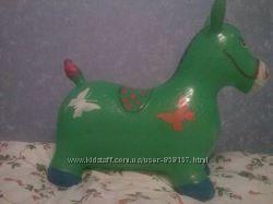 Прыгун резиновый, резиновая лошадка