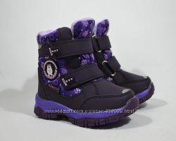 Зимние ботинки для девочки ТОМ. М Сноубутсы