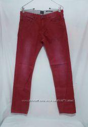 Новые джинсы бордовые W31 L34 s. Oliver &acuteClose tight´