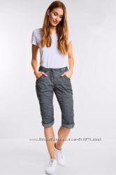 Новые брюки 3-4 капри серые с пропиткой W32 CECIL