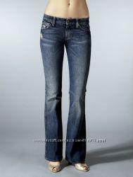 Новые джинсы клеш синие рваные W31 L34 7 For All Mankind &acuteHavana´