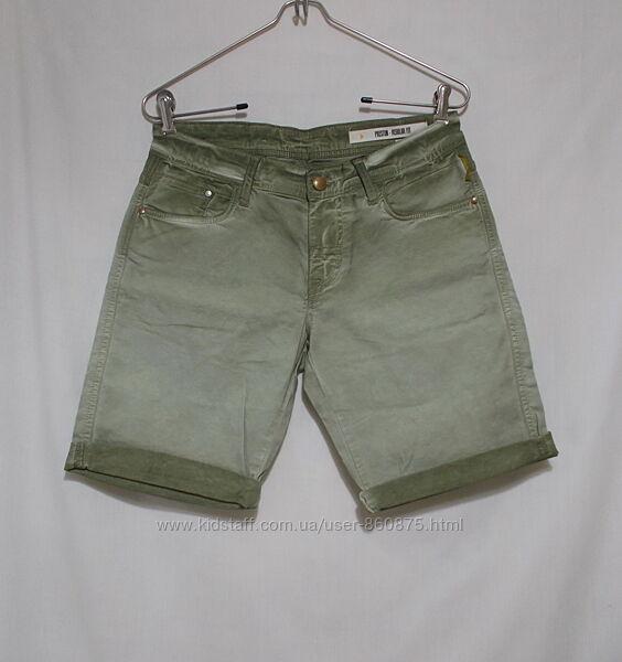 Новые джинсовые шорты оливковые w33 &acuteMeltin pot&acute Италия