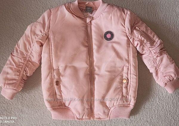 Куртка бомбер для дівчинки 8-9р. 134см