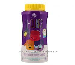 Витамины для детей Solgar, U-Cubes iherb