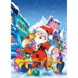 Пазлы Castorland новогодние 30, 60,  260, 300 элем.