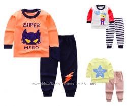 Пижама детская костюм на мальчика девочку 110 см