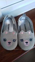 туфельки-балетки ведмедики для дівчинки