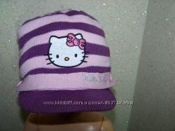 Модный берет с козырьком Hello Kitty на 4-6 лет