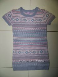 Теплое платье-туника 110-116 р