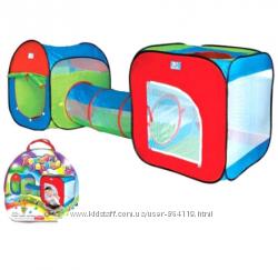 Палатка с тоннелем детская М 2503