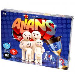 Настольная развлекательная игра Alians, Альянс, украинский язык