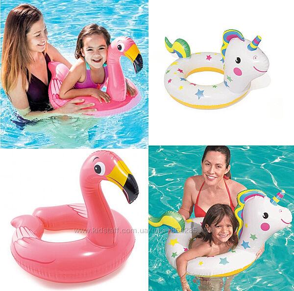 Детские надувные круги Фламинго, Единорог, 3-6 лет
