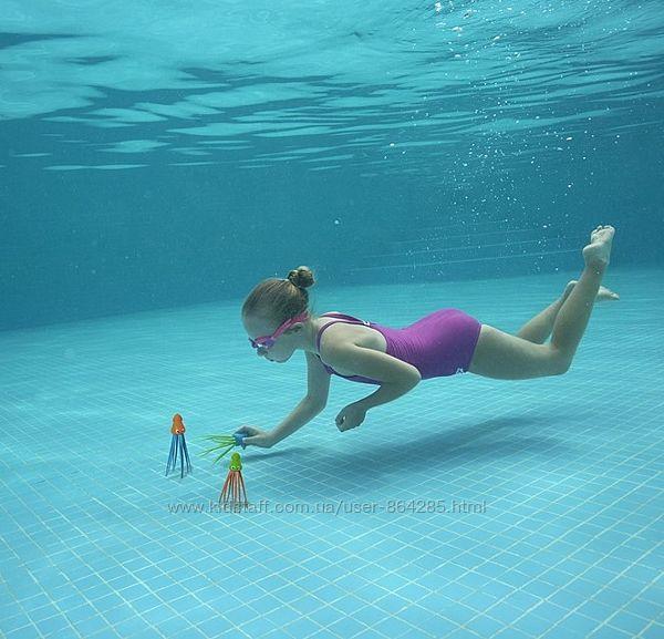 Наборы игрушек для игр в воде и ныряния Кальмары
