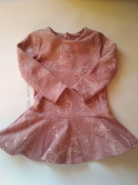 Теплое платье Old Navy, размер 2Т