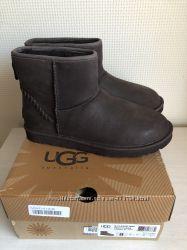 Мужские зимние кожаные ботинки, Ugg Australia, оригинал, р. 41