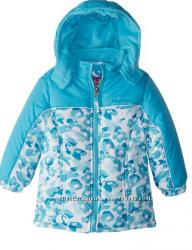 Зимова термокуртка на флісі фірми pink platinum із сша оригінал на 6-7