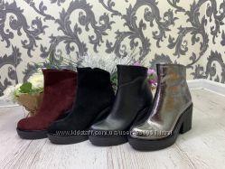 Ботинки женские демисезон весенние