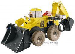 Мега игровой набор экскаватор боб-строитель bob the builder от fisherprice