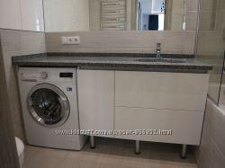 Мебель для ванной на заказ, шкафы-купе, кухни, гостинные, стенки, прихожая