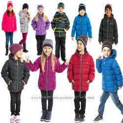 Детские демисезонные куртки бренд НАНО NANO Канада стеганные, теплые до -5С