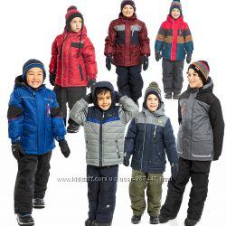 Детские зимние комбинезоны для мальчиков термо бренд НАНО NANO ПЕЛЮШ Канада