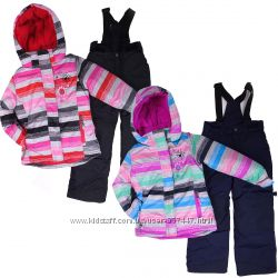 Детский зимний комбинезон для девочки термо до -30 бренд ПЕЛЮШ Канада