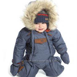 Слитные детские зимние комбинезоны для мальчиков термо до -30 бренд НАНО 1875573ce85
