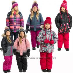 Детские зимние комбинезоны для девочек бренд NANO НАНО 2018 новая коллекция