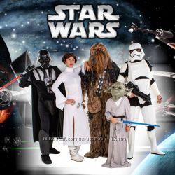 Звёздные Войны Аниматоры на праздник Дарт Вэйдер Штурмовик Чубакка NEW