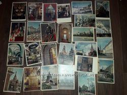 Старые открытки СССР Виды Москвы