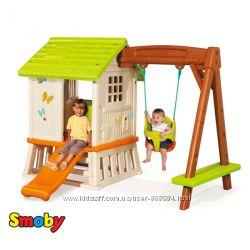 Домик Winnie Сладкие мечты с горкой и качелей Smoby 810601