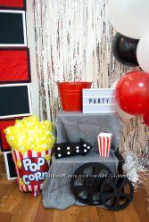 Набор декора для вечеринки, дня рождения в стиле кино