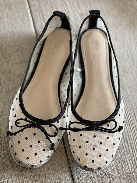 Туфельки Zara, 34 eur