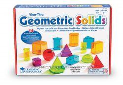 Объемные геометрические фигуры Learning Resources