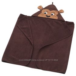 Полотенце с капюшоном, обезьяна, 70x140 см DJUNGELSKOG Ikea Икеа 103. 938. 27