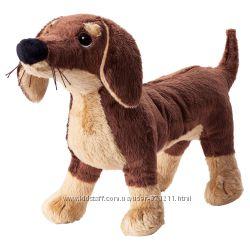 Мягкая игрушка, собака такса СМОСЛУГ SM&AringSLUG Ikea Икеа 202. 604. 45