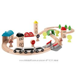 Железная дорога, набор 43 предмета, LILLABO ЛИЛЛАБУ Ikea Икеа 203. 300. 66