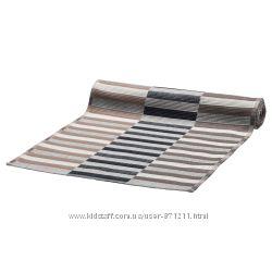 Дорожка настольная, черный бежевый, 35x130 см MITTBIT Ikea Икеа 803. 435. 70