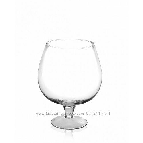 Бокал для коньяка, стекло, 1 л GL-7073