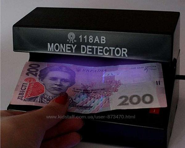 Портативный ультрафиолетовый детектор валют