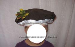 Шапка боровик мухомор праздник осени карнавал маскарадный гриб поганка