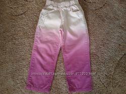 Коттоновые брюки для девочки