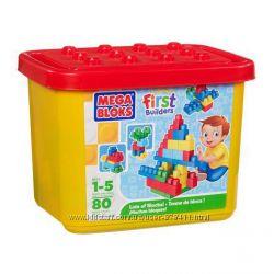 Набор конструктора в ведре Mega Bloks First Builders 8422