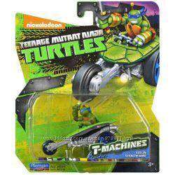 Игровой набор Леонардо на мотоцикле Стелс Ninja Turtles TMNT 97216