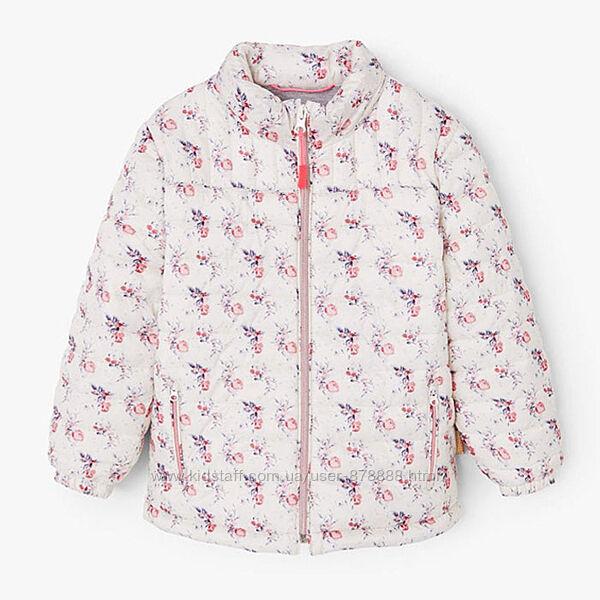 Куртка Mango в квітковий принт