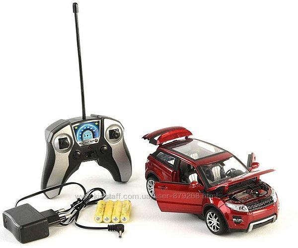 Машинка рендж ровер красная на радиоуправлении jt0134 масштаб 124