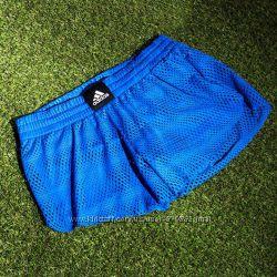 Шорты Adidas оригинал. Размер S цвет синий и черный