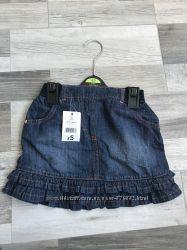 Джинсовая юбка George 4-5 лет
