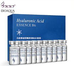 Гиалуроновая кислота BIOAQUA Hyaluronic Acid Essense B6, упаковка 10 ампул